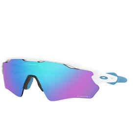 Oakley Radar EV XS Path Occhiali da sole Ragazzi, polished white/prizm sapphire